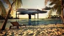 لە دوورگەى مالدیڤ (Maldives) هۆتێلێكى بازنەیى لەئاودا بنیات دەنرێت